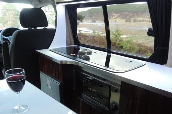 Sleep, cook, camp in comfort and style with a Four Seasons Campervan