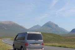 Road trip scotland - Glencoe in a VW Campervan