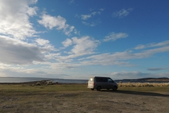 Wild camping in Islay Inner Hebrides