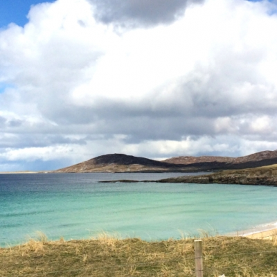 White beaches of the Outer Hebrides, Scotland
