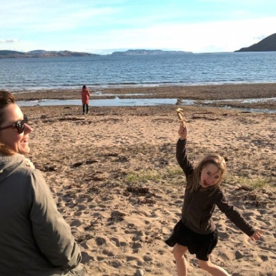 Family Beach Holiday, Scotland