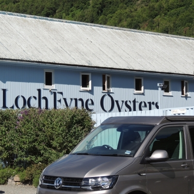 VW Campervan at Loch Fyne