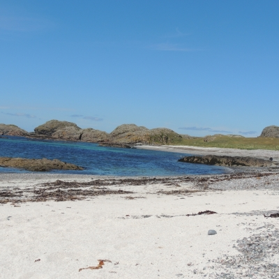 Iona sands in Scotland
