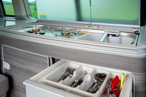 VW California Ocean Kitchen