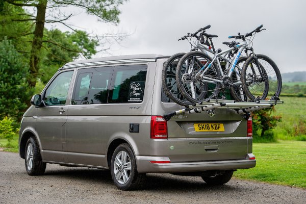 VW California Ocean bike rack