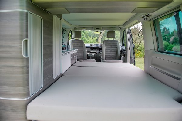 VW California Ocean Rear Double Bed