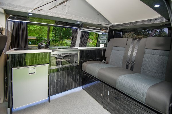 Campervan Living Area