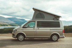 Vw Campervan Hire Scotland - views overlooking Spean Bridge