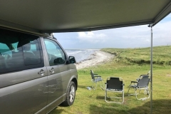 VW Campervan Hire Scotland - california in North Uist - Outer Hebrides 1
