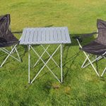 Campervan table and chairs