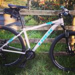 Mountain bike hire with campervan