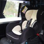 car seat campervan scotland