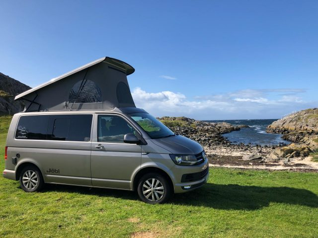 Book Campervan Scotland and enjoy luxury campervan
