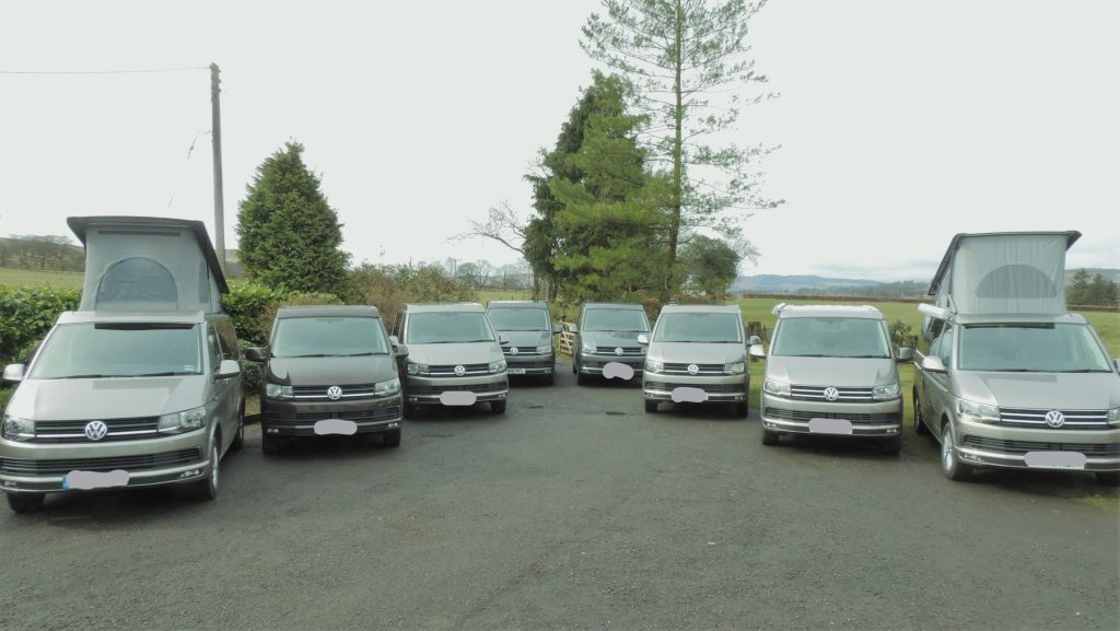 VW Campervan hire in Scotland