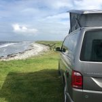VW Campervan hire scotland in a VW California Ocean in Outer Hebrides