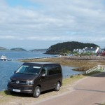 Campervan tour around Scotlands Islands