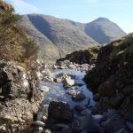 Walk in the mountains of scotland on your campervan holiday