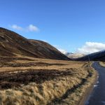 Campervan tour around Spittal of Glenshee