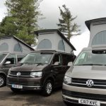 VW T6 campervans for hire in Scotland