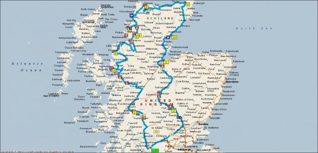 Campervan tour of the Highlands of Scotland