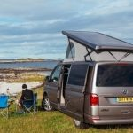 camper van hire Scotland wild camping in Arisaig
