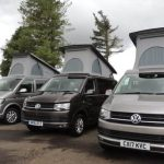 campervan hire near airport for your campervan holiday in Scotland