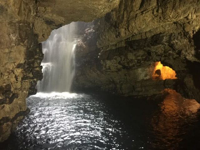 Things to do on NC500 ,Visit Smoo Caves at Durness
