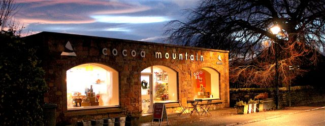 Food and drink on NC 500 ,Buy chocolate at Cocoa Mountain in Durness