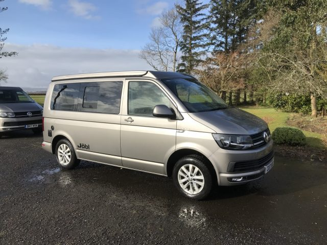 Transfer service when hire campervan scotland