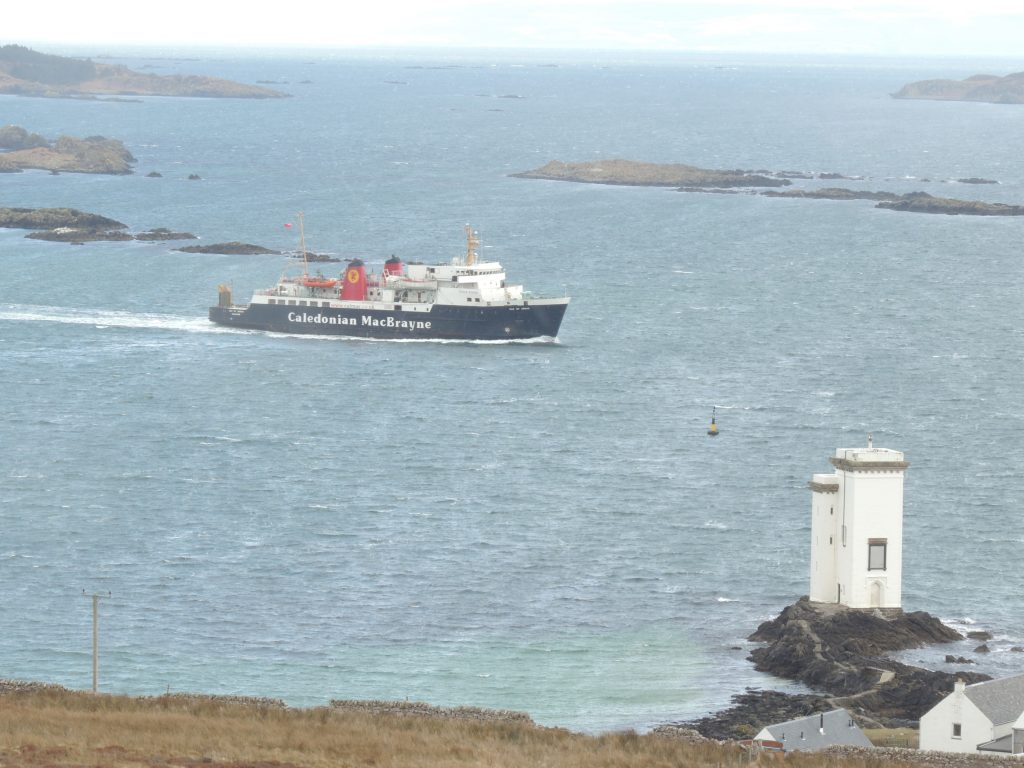 campervans are welcome on the Caledonian Macbrayne ferry to Islay