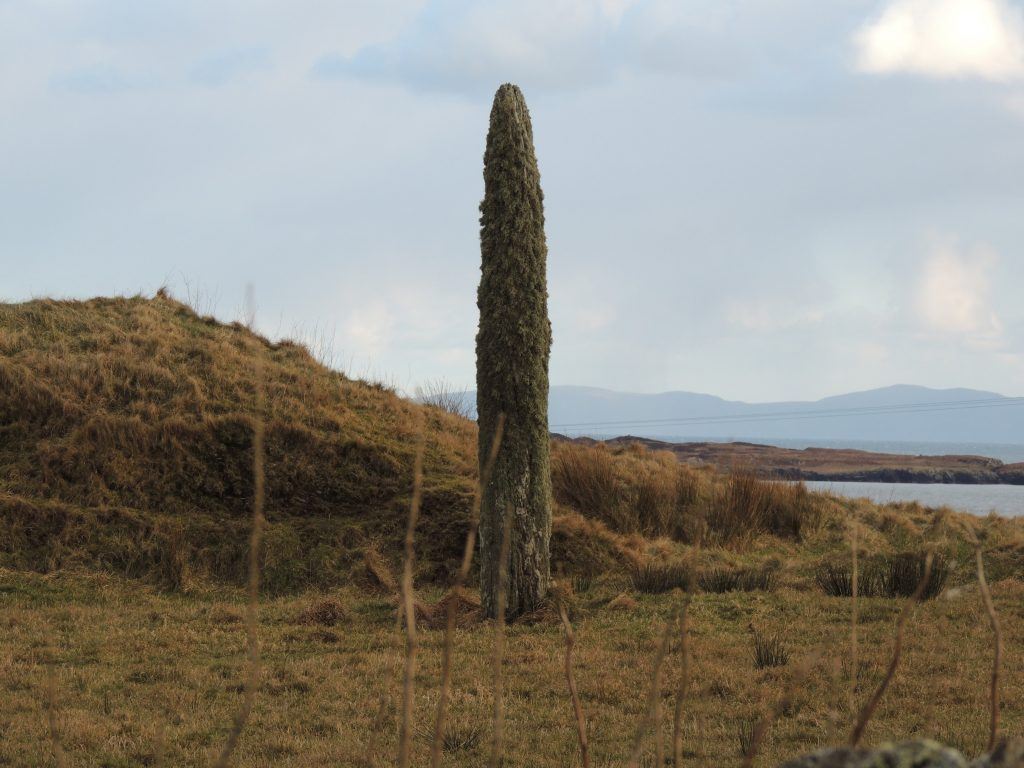 Scottish archaeological tour in campervan around Islay