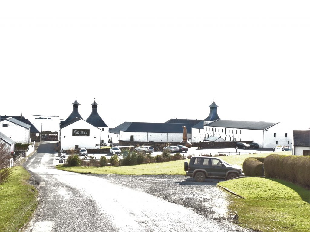 Scottish whisky tour to Islay in campervan