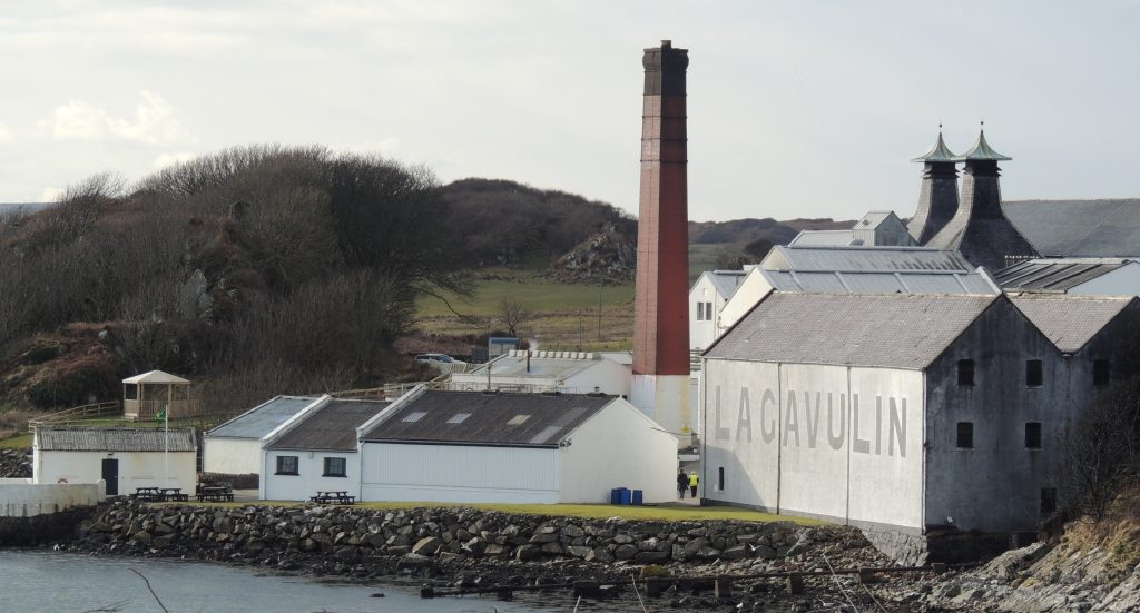 Lagavulin Distillery near Port Ellen
