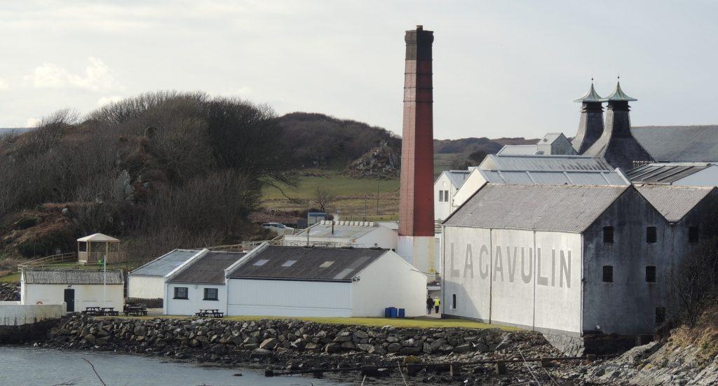 Lagavulin Distillery near Port Ellen