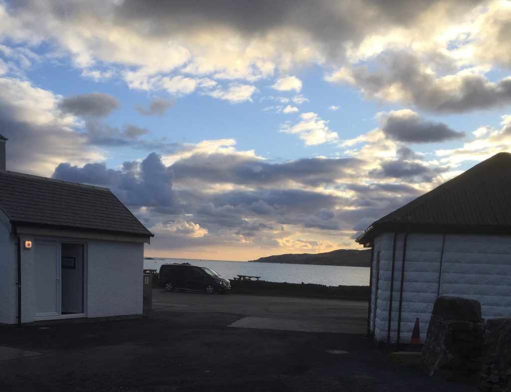 campsite for campervan on Islay