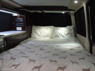 Keep warm when you hire campervan Scotland in our VW campervans