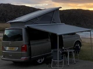 VW California Ocean hire campervan scotland