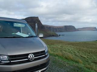 Campervan scotland tour to Neist Point Skye