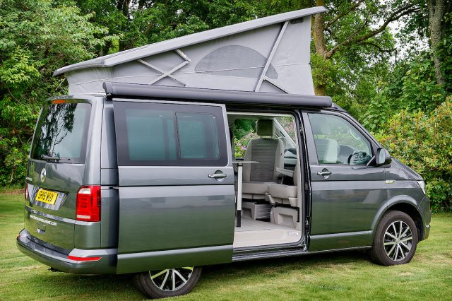 VW California camper hire Scotland