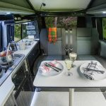 Large living in area Jobl campervan hire