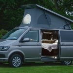 campervan hire scotland cosy camper bed