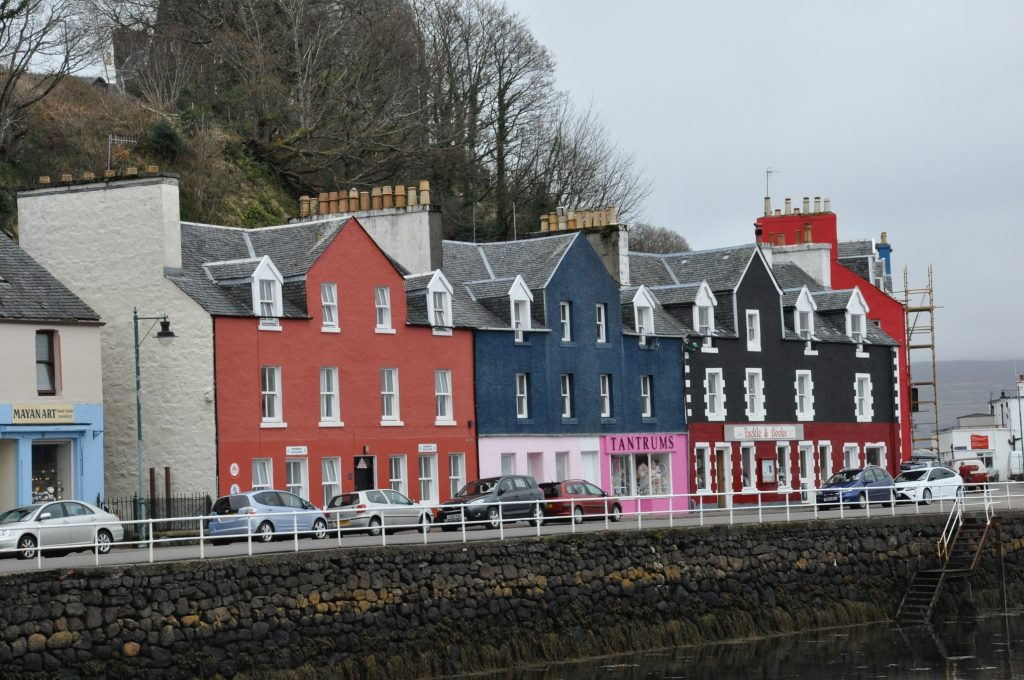 Mull Tobermory and The Mishnish