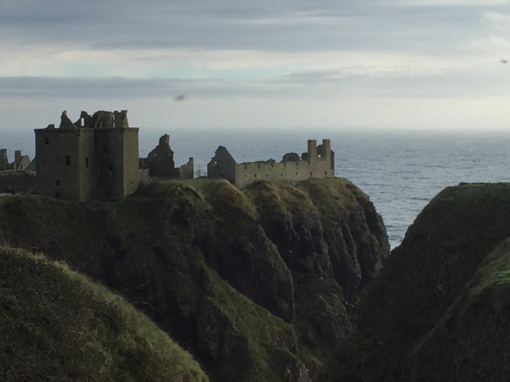 Dunnottar Castle Outlander Scotland