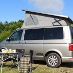 Campervan equipment included in campervan hire Scotland