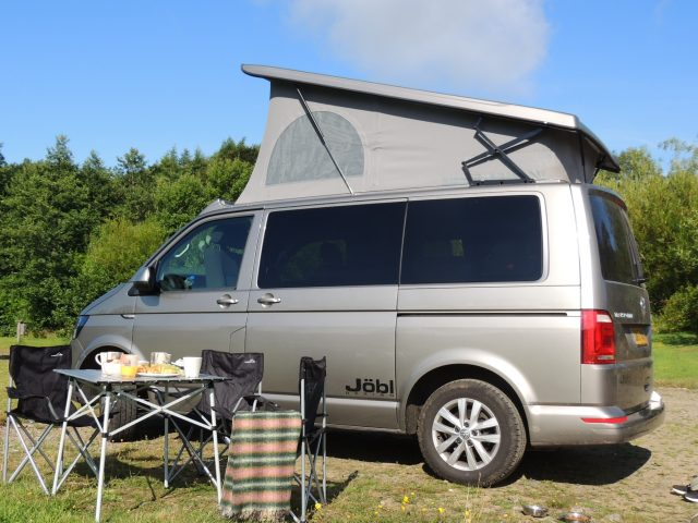 Campervan equipment included in hire price
