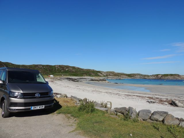campervan hire Scotland with no hidden costs
