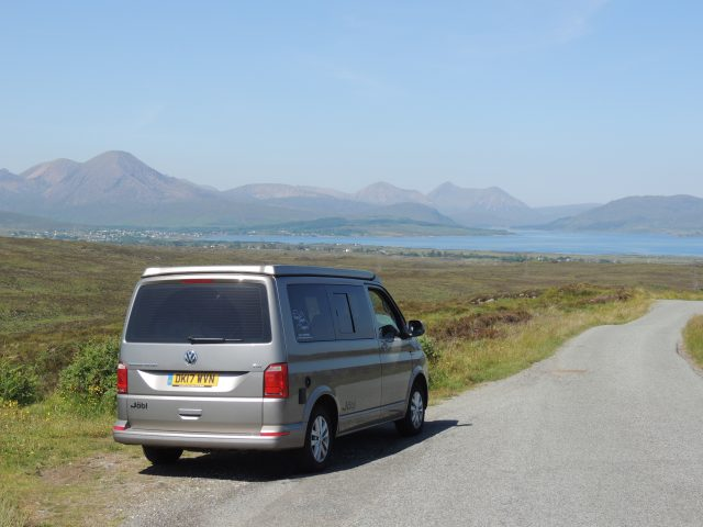The perfect campervan pick up for your road trip around Scotland