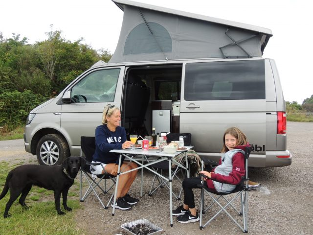 Bring your dog with our dog friendly campervans