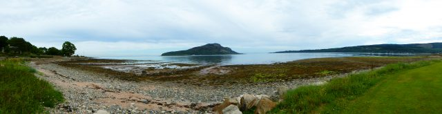 Beautiful beaches in Arran in May