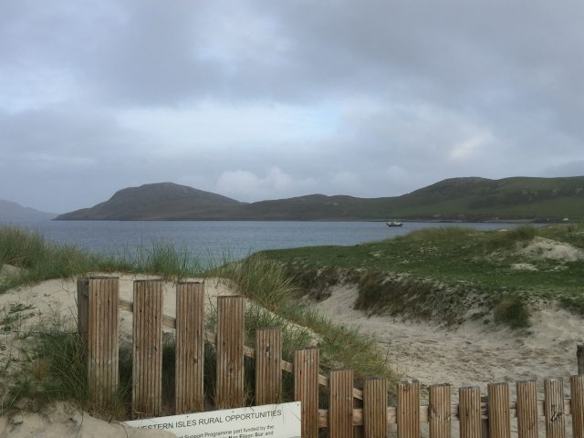 Sandy white beaches Outer Hebrides
